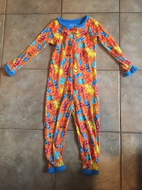 Cotton zip up pj's, 3T Ashburn, 20147
