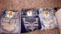 3 Men's Rock Revival Jeans (All 3 For $90) or $45 Each Pair Racine, 53405
