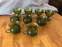 green and black ceramic tea set Boise, 83709
