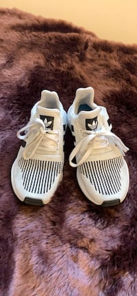 Adidas black and white running shoes Portland, 97219