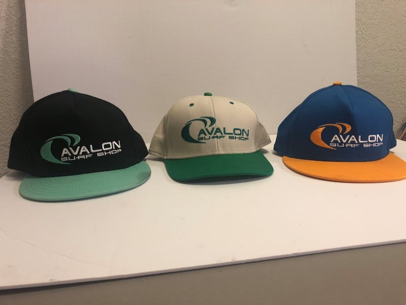 Avalon Surf Shop Snapback Lot of 3 Hats f0d45efe-acff-409f-9eee-bb4474d68fa1