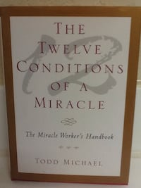 12 CONDITIONS OF A MIRACLE Book - Michael - God Spiritual Self Help Las Vegas, 89119