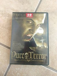 Pure Terror DVD Collection 50 Movies Las Cruces