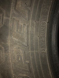 """2- 35"""" Toyo open country tires Charles Town, 25414"""