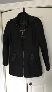 Women's black full zip jacket - XS