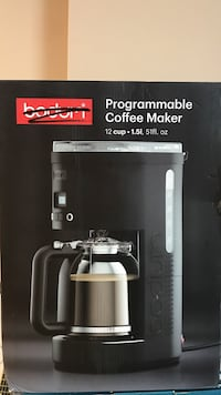 Boduri programmable coffee maker box Clarksville, 37042