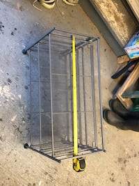 Collapsible shoe rack Ottawa, K2M