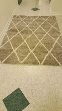 white and brown area rug Reisterstown, 21136
