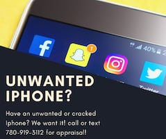 We want your iPhone!