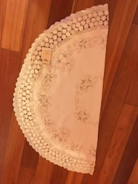White laced table mat brand new from Singapore. Still with tag. Great for a gift   Gaithersburg