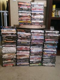 Over 200 dvds Hickory