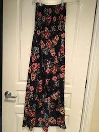 Tube junior floral dress, KTOO brand, low front, 23', 49' back  Alexandria, 22314