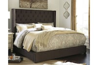 Norrister Queen Upholstered Panel Bed Lake Tapps