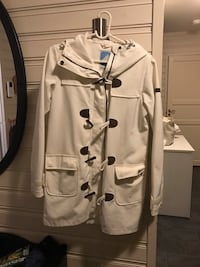 hvit trench coat