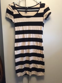 H&M black and off white dress Springfield, 22150