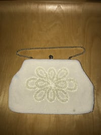 Vintage Beaded Sequined 1950's evening purse. New York, 11218