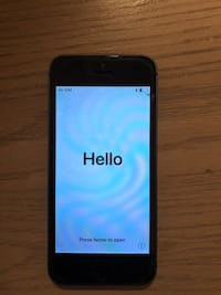 Unlocked Black iPhone 5s 16GB