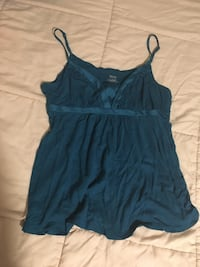 women's blue spaghetti strap top Wisconsin Rapids, 54494