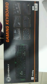 GAMING KEYBOARD OYUN KLAVYESİ