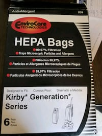Kirby Hepa Filter Vacuum Bags Airdrie, T4B 3A2