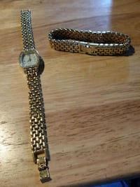 Gold Bracelet and watch Independence, 64058