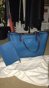 Blue Marc Jacobs tote bag