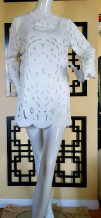 White Micro Mini Dress Sz XS London, N5Y 4S6