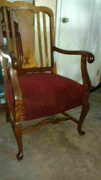 Victorian Captain chair with spring seat