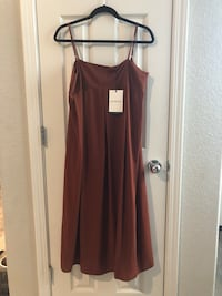 WHO WHAT WEAR floor length dress  Rancho Cordova, 95670