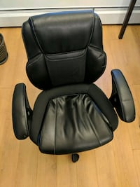 black office rolling armchair Vancouver, V6G 2H9