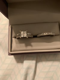 Silver diamond ring in box Glen Allen, 23060