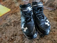 pair of black-and-white Nike cleats Mesa, 85212