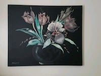 white and pink petaled flower painting Dartmouth, 02748