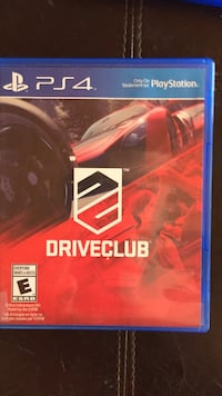 Sony PS4 Driveclub game case Coquitlam, V3B 2T3