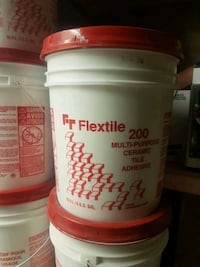 Flextile wall tile glue