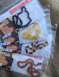 Amber teething necklace- if you buy more it's negotiable  Vaughan, L4L 9M6