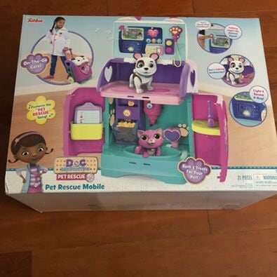 **New in Box** Doc McStuffins Pet Rescue Mobile