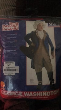 Child George Washington Costume Germantown, 20874