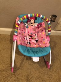 Minnie Mouse baby rocker. 934 mi