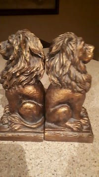 Bookends 2 lions from bombay Vaughan, L4K 5W4