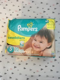Pampers Swaddlers Size 5 BNIP Toronto, M6E 1L2