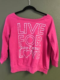 Pink and white juicy couture shirt  Modesto, 95356