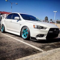 18 x 9.5 Teal color Whistler wheels Downey, 90242