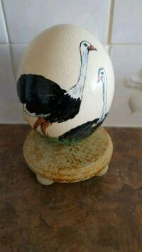 Painted Ostrich Egg Calgary, T2Z 3Y5