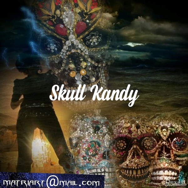 SKULL Candy Fine Art and Happy Endings! e741903c-c597-4bb8-a9df-f1d32060d055