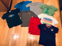 assorted-color polo shirt lot 418 mi