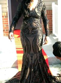 women's black prom dress  Camden, 08104
