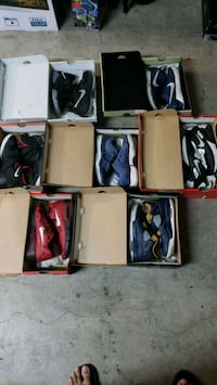 assorted color Air Jordan basketball shoes in box Richmond, 94803