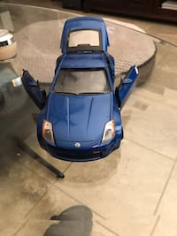 Die Cast Model of a Nissan 350Z North Highlands