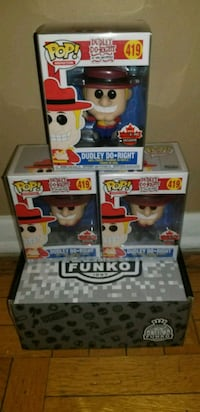 Dudley doo right exclusive funko pops $60 EACH  542 km